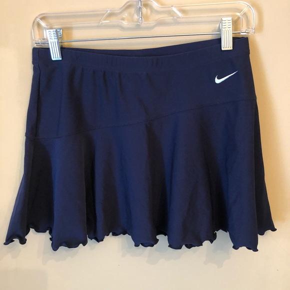 Nike ruffle sexy golf tennis athletic skirt